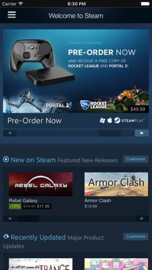 手机版Steam平台下载