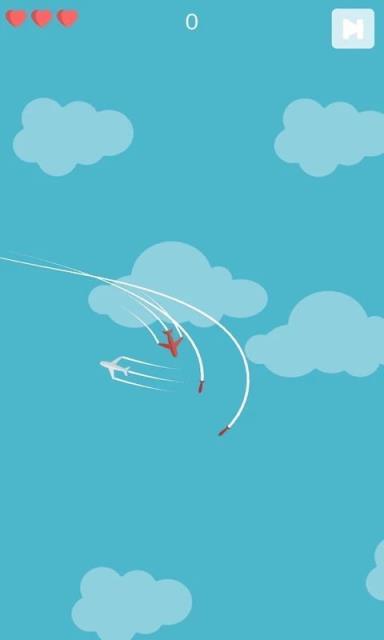 飞机vs导弹