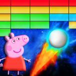 小猪佩奇打砖块游戏
